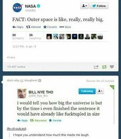 collection of internet memes and funny memes more at friendbookmark Bill Nye Memes, Bill Nye Tho, Laugh Or Die, Stuff Co, Nursing Student Tips, Nerd Jokes, Mind Blowing Facts, Tumblr Stuff, Funny Times