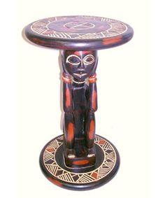 Sese Wood Lovers Table Ghana by African Creations Ghana Fair