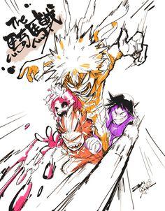 My Hero Academia - Ashido, Bakugou, Kirishima & Sero
