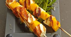 If you like grilling vegetarian, you need good and simple recipes - Make Easter Decorations Grilling Recipes, Veggie Recipes, Vegetarian Recipes, Cooking Recipes, Healthy Recipes, Veggie Bbq, Simple Recipes, Halloumi, Grilled Veggies