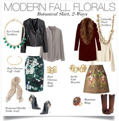 Trend alert: Fall Florals. Here are two ways to wear –which would you rock? | Stella & Dot