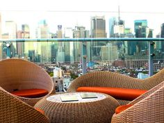 The Press Lounge at INK48, in Hells Kitchen, dresscode enforced but AMAZING City views, opens at 5 pm