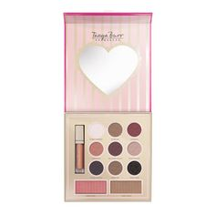 This limited edition Tanya Burr Candy Glam Beauty Essentials Palette is giving me some SERIOUS product lust. I want it sooooo badly! All Things Beauty, Girly Things, Tanya Burr Makeup, Beauty Trends, Beauty Hacks, Beauty Tips, Face Palette, Eyeshadow Palette, Eye Palettes