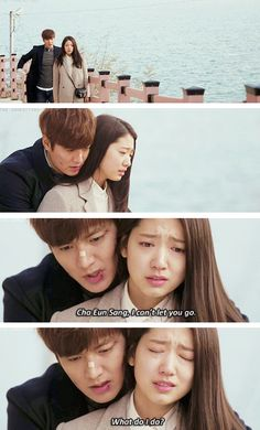 "... Min Ho and Park Shin Hye ♡ #Kdrama - ""HEIRS"" / ""THE INHERITORS"