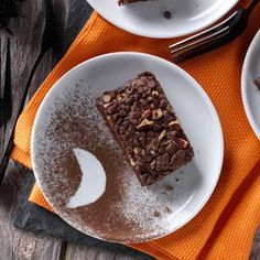 """Devil's Food Snack Cake- """"Healthier"""" than traditional cake. Uses oats, whole wheat flour and instant coffee. Can't wait to try it!"""