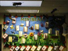 Minibeasts classroom display