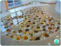 Floral 3d flooring ideas 3d bathroom floor murals 3d epoxy floor - 3d Floor Art Designs 3d Epoxy Resin Flooring Ideas