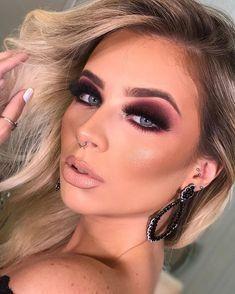 everyday makeup tutorial for teens Glam Makeup Look, Blue Eye Makeup, Smokey Eye Makeup, Makeup Looks, Asian Makeup, Korean Makeup, Make Up Tutorial Contouring, Makeup Tutorial Eyeliner, Makeup Tutorial For Beginners