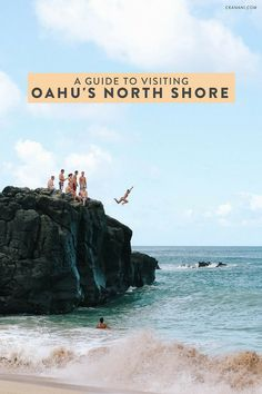 A guide to visiting the North Shore of Oahu, Hawaii including how to get there, what to do, and what to eat! See Pipeline, Waimea Bay, Sunset Beach, Haleiwa and more.