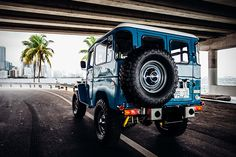 1978 Toyota Land Cruiser FJ40 Sky Blue by FJ Company 5