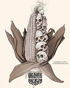 Medusa Kunst, Medusa Art, Kunst Tattoos, Body Art Tattoos, Aztec Tattoos Sleeve, Mexican Art Tattoos, Snake Art, Aztec Warrior, Mexico Art