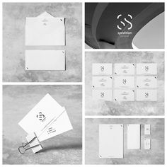 Spedition Services - student project - branding concept for a spedition corp. (2015 r.) #branding #spedition #minimal