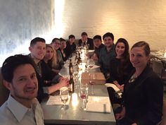 Our NY office's peer-nominated Talent DNA winners enjoyed dinner with Paul Newman, President, MSLGROUP NA; Congrats to our talented employees!
