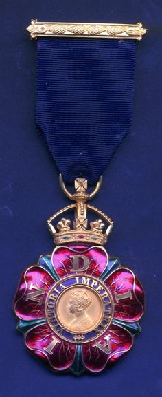 The Most Eminent Order of the Indian Empire, companion, 1st issue, circa 1878-1886.  This Order, which was an order of chivalry founded by Queen Victoria in 1878 is comprised of the   Knight Grand Commander, Knight Commander, and Companion classes.  No appointments have been made since 1947, the year of the Partition of India. With the death of the last surviving knight, the Maharaja of Dhrangadhra, the order became dormant in 2010.