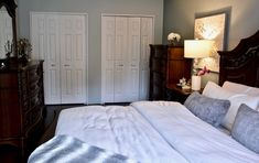 Transitional bedroom project by Dominika Pate Interiors
