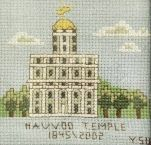 LDS Cross stitch patterns- there are some GORGEOUS patterns on here, including an awesome YW theme pattern. Makes my fingers itch to stitch...