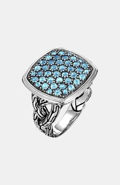 John Hardy 'Classic Chain - Lava' Large Cocktail Ring available at #Nordstrom