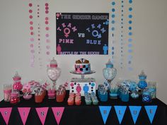 Gender Reveal Party Battle of the Sexes
