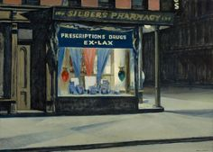 Edward Hopper, Emporio, 1927 olio su tela, cm 73,7 x 101,9 Boston, Museum of Fine Arts lascito di John T. Spaulding © 2014 Museum of Fine Arts, Boston
