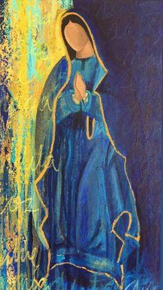 icu ~ Pin on Mother mary ~ Jun 2019 - Virgen de Guadalupe Wallpaper Ig: Catholic Art, Religious Art, Virgin Mary Art, Religion, Jesus Art, Angel Art, Mexican Art, Sacred Art, Christian Art
