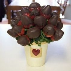 Chocolate Bouquet Strawberries