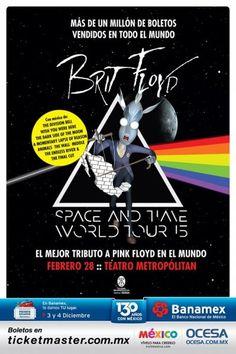 Brit Floyd - The Pink Floyd Tribute Show 28 de Febrero Teatro Metropolitan