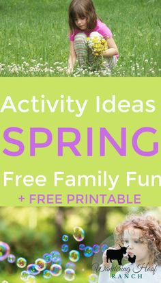 Big list of free family activities to do this spring includes, outdoor play activities, screen free indoor activities and art projects for kids & toddlers. Indoor Activities For Toddlers, Spring Activities, Activities To Do, Outdoor Activities, Toddler Art Projects, Frugal Living, Fun Ideas, Free Printable, Easter