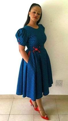 design Dresses 2017 - Traditional Wear For Dresses By Bongiwe Walaza traditional dresses styleyou Shweshwe Traditional Dresses Designs ) ( 2017 )designs south african traditional dresses 2017 Related African Dresses For Women, African Print Dresses, African Print Fashion, African Fashion Dresses, African Attire, African Wear, African Style, Ghanaian Fashion, African Prints