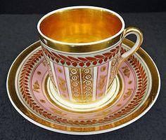 Belas Antique Paris Porcelain Tea Cup & Saucer