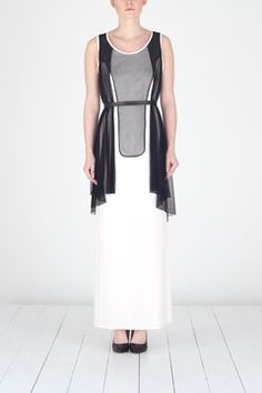 Art Deco dress.  I like the idea of the layers and the shape of the top layer.