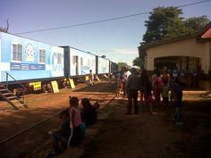 Tren de Desarrollo Social y Sanitario Eva Perón en Gral Pizarro, Salta