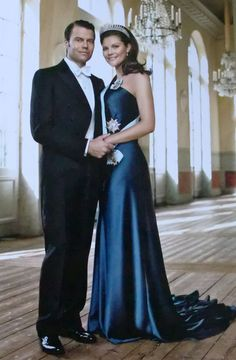 Perfect Love -Crown princess Victoria of Sweden and her husband, Daniel.