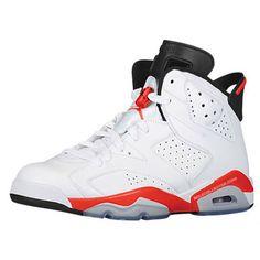 Air Jordan 6 Retro White/Infrared Release Date Real Jordans, Newest Jordans, Kids Jordans, Shoes Jordans, Buy Cheap Shoes Online, Jordan Shoes Online, Cheap Jordan Shoes, Air Jordan Vi, Tennis