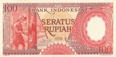 Tempo Doeloe - 1958, Seratus Rupiah I (front)