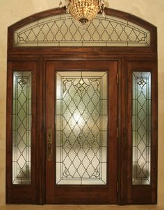 Make a grand entrance. Install custom stained glass windows for your Houston home.