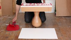 Giant rubber stamp by Le Tampographe Sardon