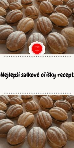 Christmas Baking, Christmas Cookies, Polish Desserts, Slovak Recipes, Biscuits, Easy Meals, Food And Drink, Xmas, Sweets