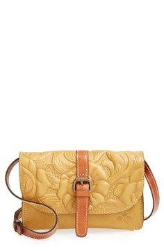 Patricia Nash 'Winter Rose - Torri' Italian Leather Crossbody Bag | Nordstrom