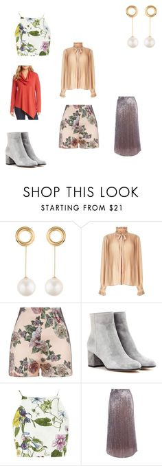 """""""Headspace 1117"""" by audjvoss ❤ liked on Polyvore featuring Joanna Laura Constantine, Miss Selfridge, La Perla, Gianvito Rossi, Glamorous, Twinset and Karen Kane"""