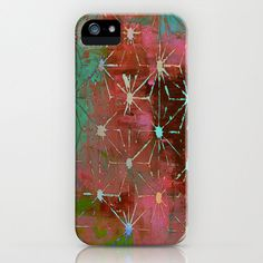 Stencil Print Phone Case  apple iphone hard by WayfarerPrints, $26.00