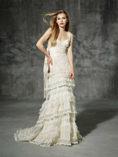 RENATA, yolancris, boho, folk, dress, barcelona, 2016, chic, novia, vestido, bride, wedding gowns, bohemian, art craft, differences, originals, hechos a mano, diseñador, artesanales, a medida, costura