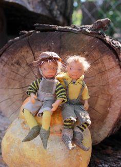 Julia Moiseenko HANDMADE: Маленькие истории из жизни садовых гномов (часть2) / Little stories from the life of garden gnomes (part2)