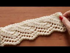 Knitting Books, Knitting Videos, Easy Knitting, Knitting Stitches, Ladies Cardigan Knitting Patterns, Knitting Patterns Free, Stitch Patterns, Knit Edge, Needlepoint Designs
