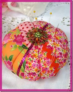 Stick a Pin in It…Sewing Pincushions – THE DOMESTIC DIVA'S DISASTERS™