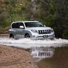 Toyota Land Cruiser Prado - Time to cool off.