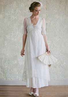 I've always said that I loved the early 1910's and 1920's...maybe this dress should be the one for me...