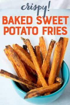 We've tested all the best tips and tricks to make perfectly crispy BAKED sweet potato fries (no deep fryer needed). We'll show you what ingredients and tools to use to get dippable crispy sweet potato fries in the oven every single time! Steamed Sweet Potato, Sweet Potato Recipes, Canning Sweet Potatoes, Potato Crisps, Sweet Potato Breakfast, Gnocchi Recipes, Slider Recipes, Fries In The Oven, Fried Potatoes