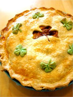 St. Patrick's Day Pie ~ yummy recipe