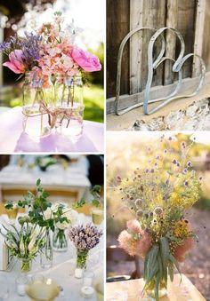 Ökologisch, natürliche Hochzeitsdeko
