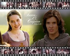 Susan and Prince Caspian are meant to be together.......So True.....I didn't even really like Liliandil